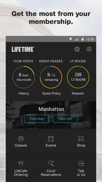 Life Time Member App poster