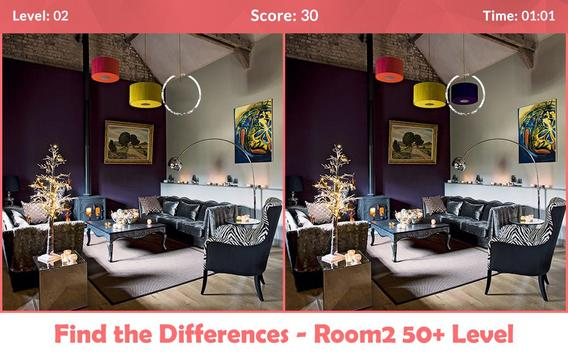 Find the Differences - Room 2 screenshot 1