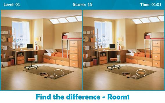 Find the Differences - Room poster