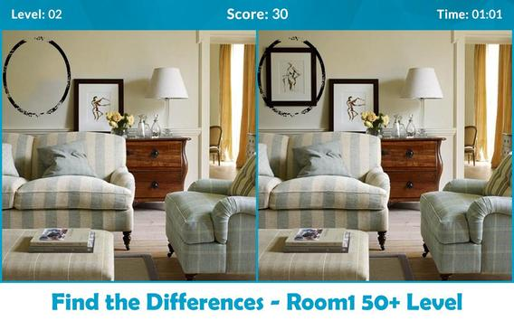 Find the Differences - Room screenshot 1