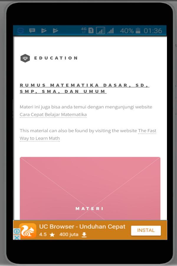 Rumus Dan Sifat Bilangan Berpangkat For Android Apk Download