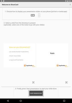 ShowCast Freeloader Edition apk screenshot