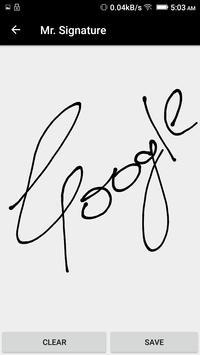 Mr. Signature apk screenshot