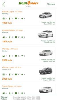 Rentmotors - rent-a-car apk screenshot