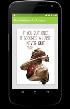 Positive Quotes for Successful Life apk screenshot