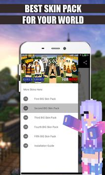Girls Skins Pack for MCPE poster