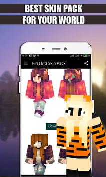 Girls Skins Pack for MCPE apk screenshot