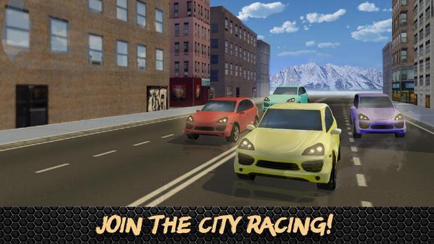 Super Luxury Car Racing 3D poster