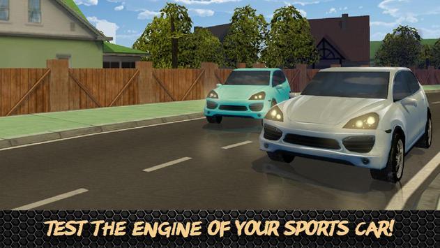 Super Luxury Car Racing 3D screenshot 1