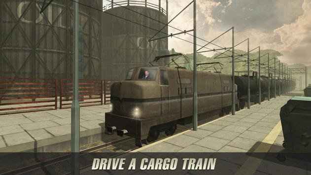 Oil Train Driving Simulator poster