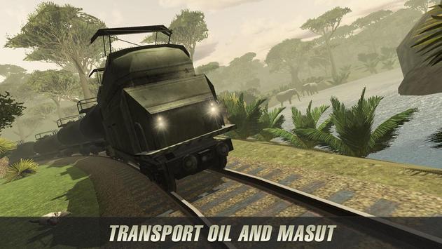 Oil Train Driving Simulator apk screenshot