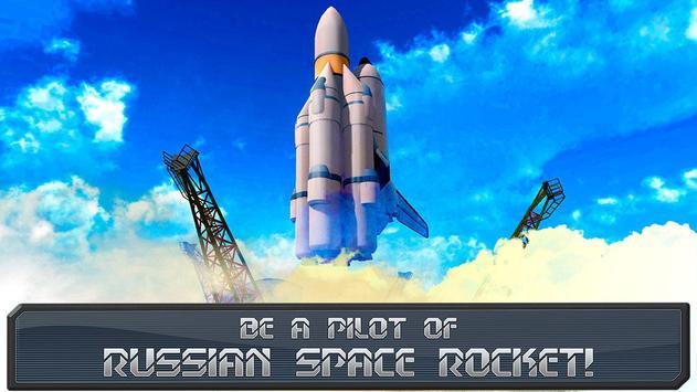 USSR Air Force Rocket Flight-poster