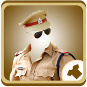 Police Suit Photo Maker (Man ) icon