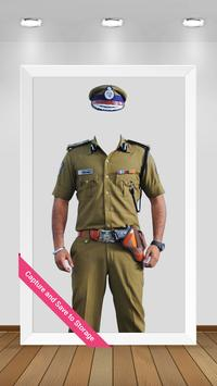 Police Suit Photo Maker (Man ) poster