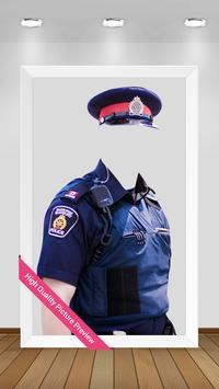 Police Suit Photo Maker (Man ) screenshot 2