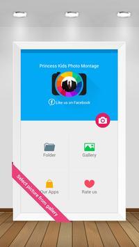 Princess Kids Photo Montage apk screenshot