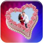 Couple Photo on Cake icon