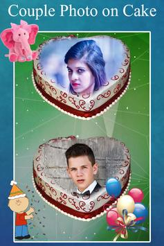 Couple Photo on Cake screenshot 2
