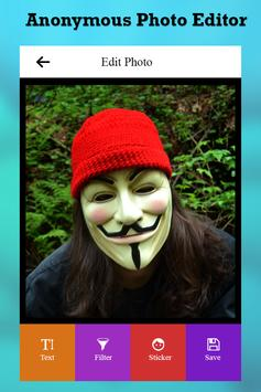 Anonymous Photo Editor poster