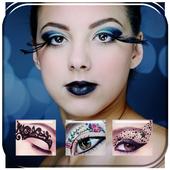 Eye Makeup stickers icon