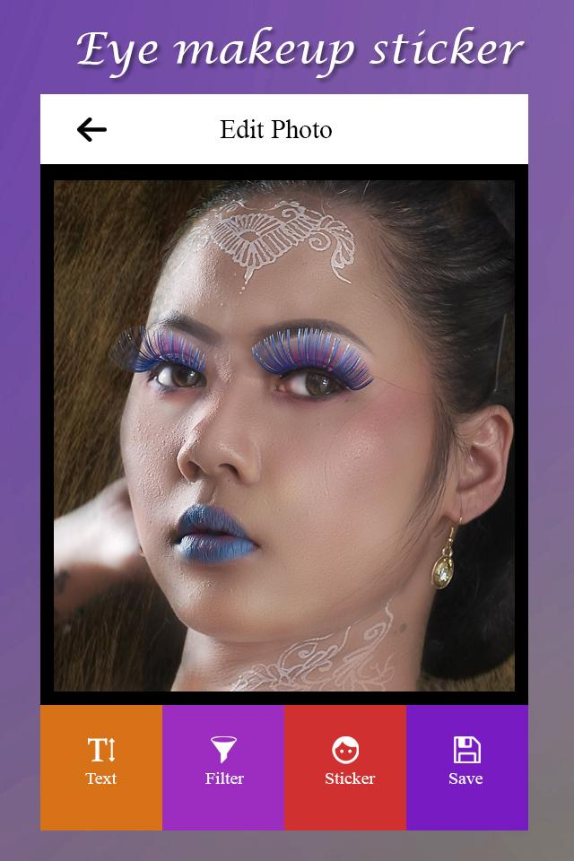 Eye Makeup Stickers For Android
