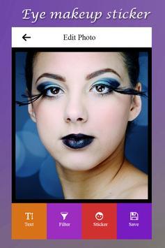Eye Makeup stickers screenshot 2
