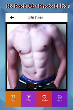 Six Pack Abs Photo Editor screenshot 1