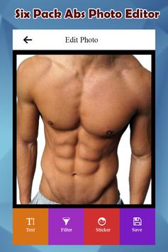 Six Pack Abs Photo Editor screenshot 3