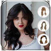 Woman Hairstyle Photo Editor icon
