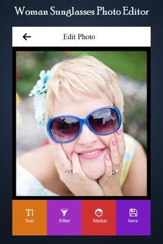 Woman Sunglasses Photo Editor screenshot 1