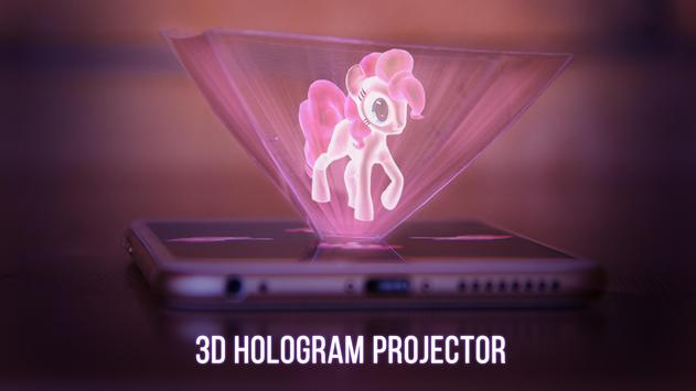 Hologramium 3D poster