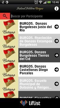 Festival Folclore Burgos apk screenshot