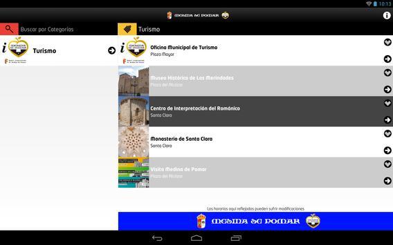 Agenda Medina de Pomar apk screenshot