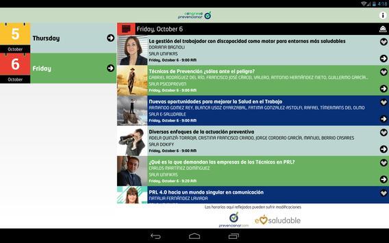 Congreso Prevencionar screenshot 6