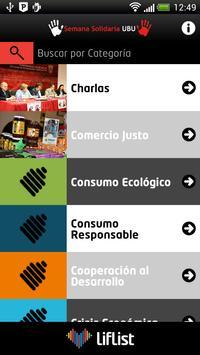 Semana Solidaria UBU screenshot 2