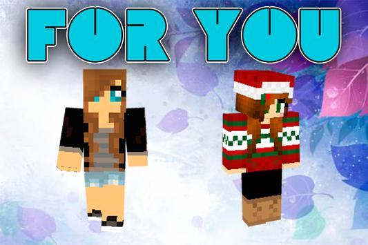 Girls Skins for Minecraft screenshot 11