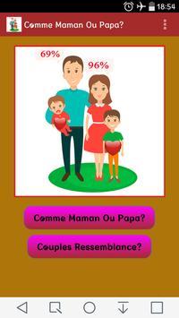 Comme Maman Ou Papa? poster