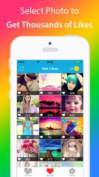 Get Likes with 5000 instagram. apk screenshot