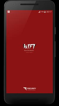 WiFi Password Simulated poster