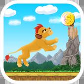 lion run Guard games icon