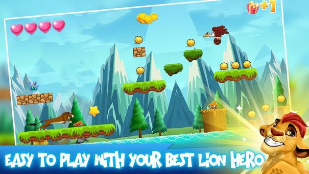 lion run Guard games poster
