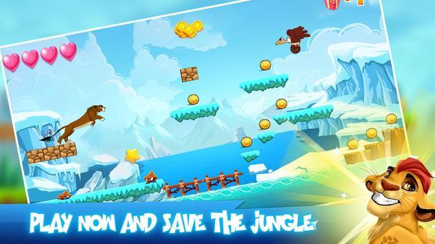 lion run Guard games apk screenshot