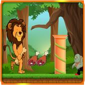 Brave Lion Adventures Running icon