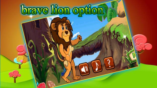 Brave Lion Adventures Running apk screenshot
