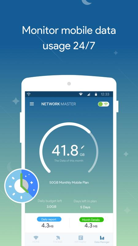 Network Master - Speed Test APK Download - Free Tools APP ...