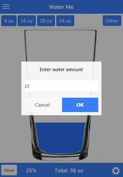 Water Me - Track Your Water apk screenshot