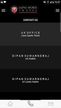 Lions Sports Travel 2.0 screenshot 2