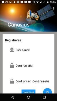 Canovius Gps screenshot 1