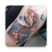 3D Tattoo icon