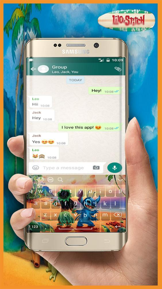 New Keyboard Lilo And Stitch For Android Apk Download